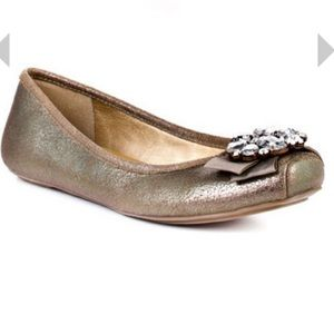 Jessica Simpson Lepolia Bronze Jupiter Ballet Flat